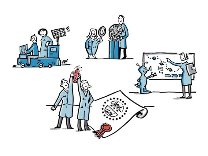 7 Gründe, warum visualisiertes Wissen besser ankommt