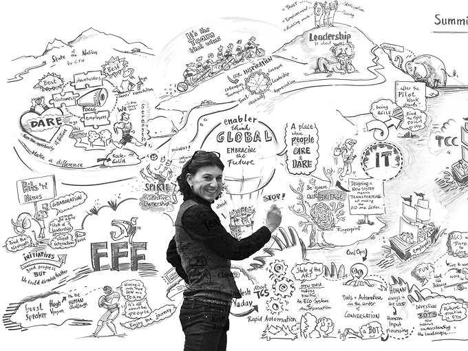 Das Leben als Live Zeichner – Vermögen, Können, Wissen – TEIL 1