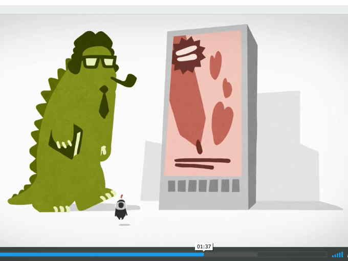 Imagekampagne: Illustratoren Erklärfilm